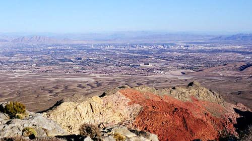Las Vegas from Turtlehead Peak