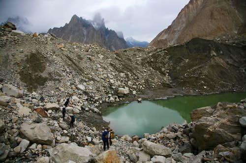 Glacial Lake at Baltoro,
