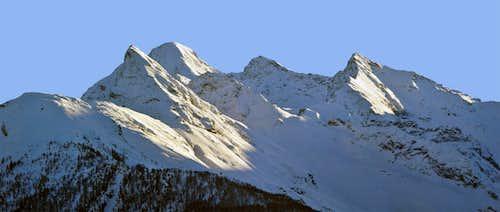 Tersiva Mountain Chain  from North