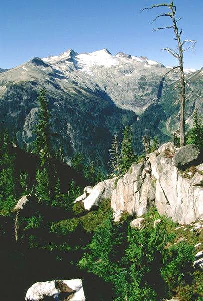 Mt. Daniel is seen from the...