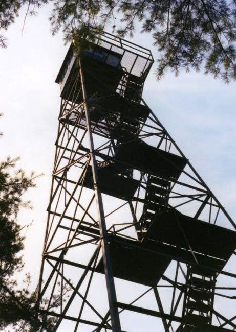 Fire tower on the summit of...
