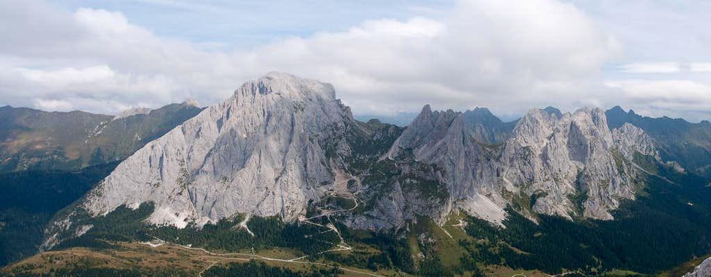 Monte Peralba, Monte Chadinis, Monte Avanza and Monte Navastolt