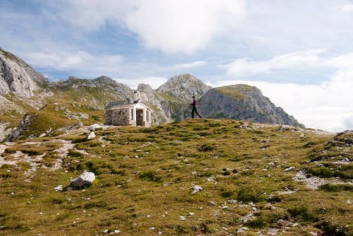 The Little chapel at Laghi d'Olbe