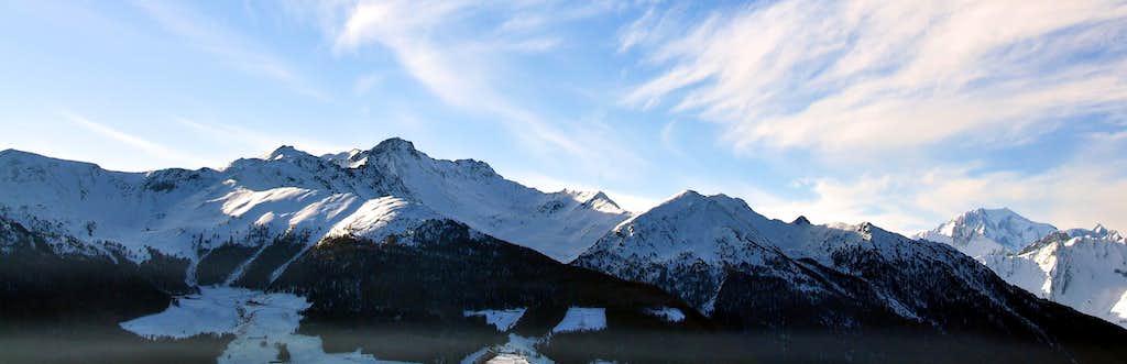Views of Mont Blanc