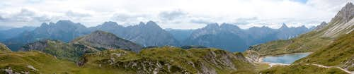 Southern Carnic Alps Panorama
