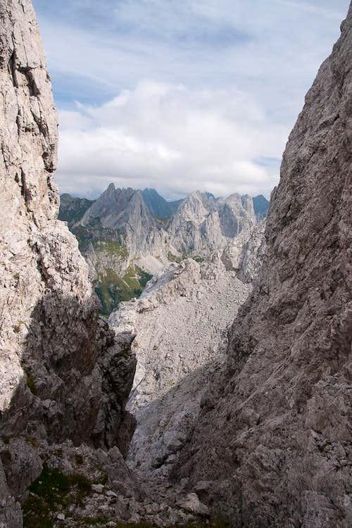 Monte Chiadinis and Monte Avanza