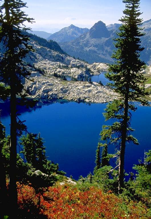 The blue of the Robin Lakes...