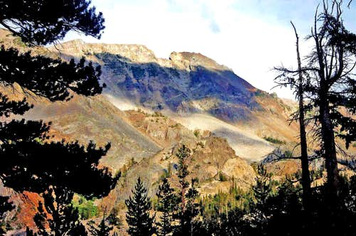Pyramid Peak, 11,728\' from the west