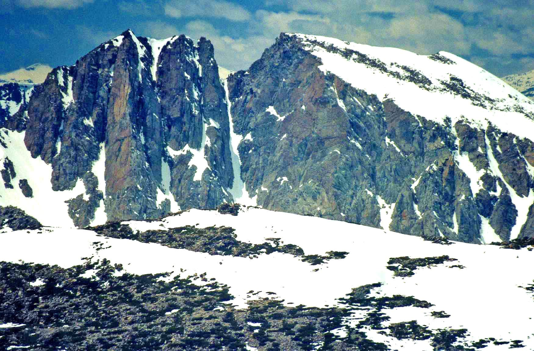 """Pyramid Peak"" (Mammoth Lakes)"