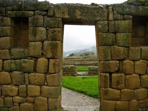 Trapezoidal doorways