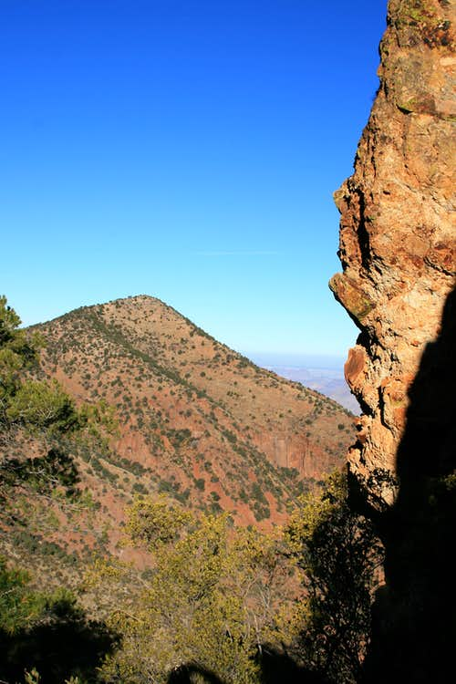 View on the Pinnacles Trail
