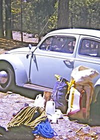 Packing My Haul Bag in Yosemite, early 1970s