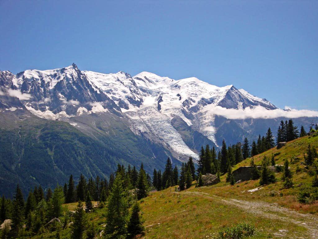 Mont Blanc Massif N Side