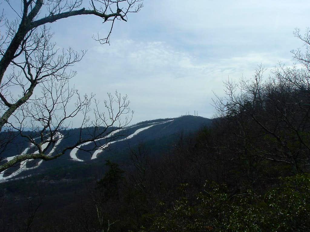 Massanutten Peak from Ridge Trail