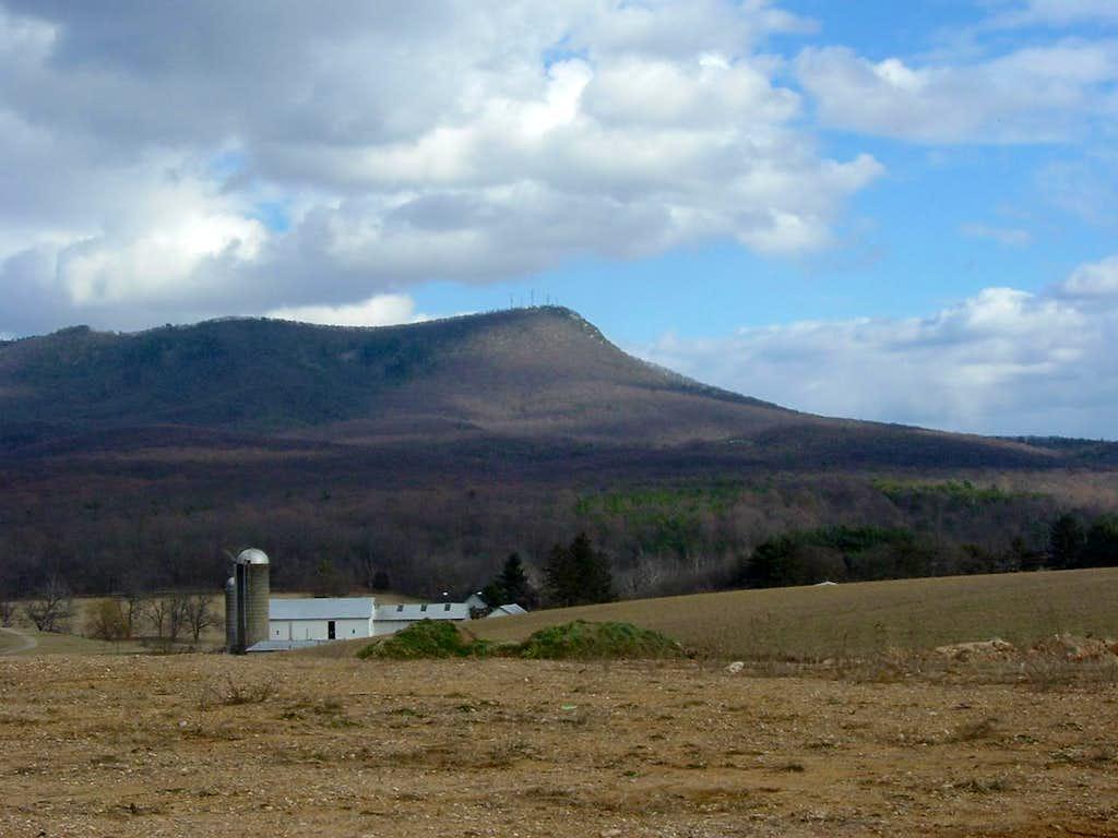 Massanutten Peak from the Southwest