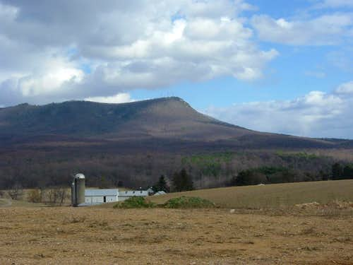 Massanutten Peak from the Southwest