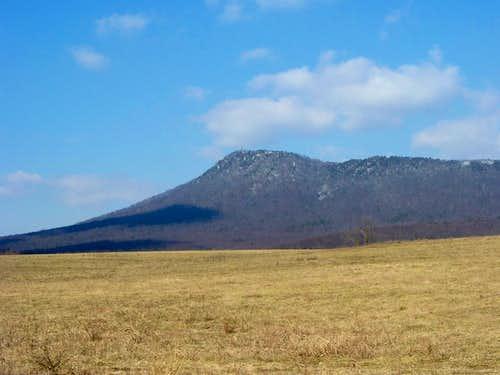 Massanutten Peak from the East