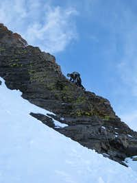 Starting up Choss Buttress