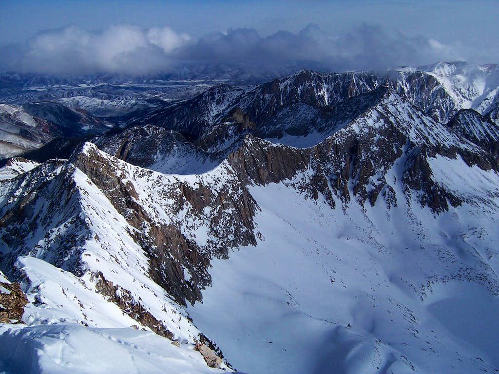 K2-Clark Peak Ridgeline