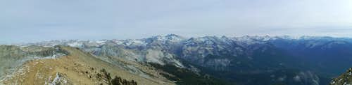 View Southeast From Alta Peak
