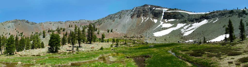 Mount Eddy over upper Deadfall meadow