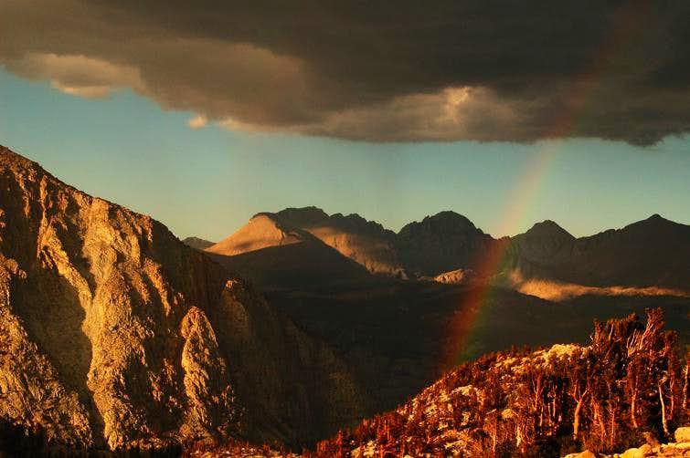Rainbow Over Kern Canyon
