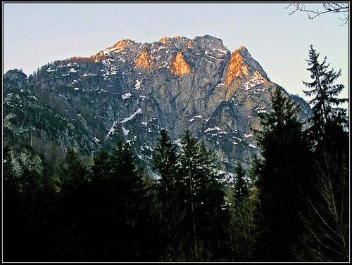 Monte Re / Kraljevska spica from the N