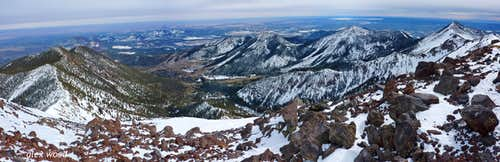 Humphreys Summit Panorama