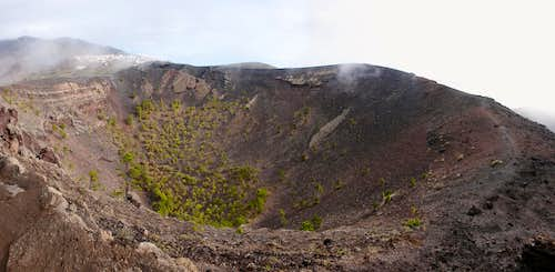 Crater of Volcan San Antonio