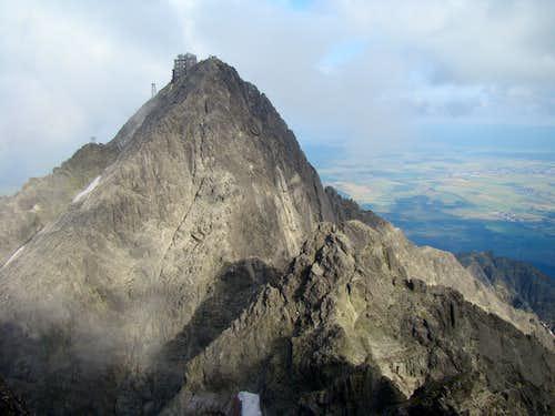 Lomnica, and ridge Durny Szczyt - Lomnica