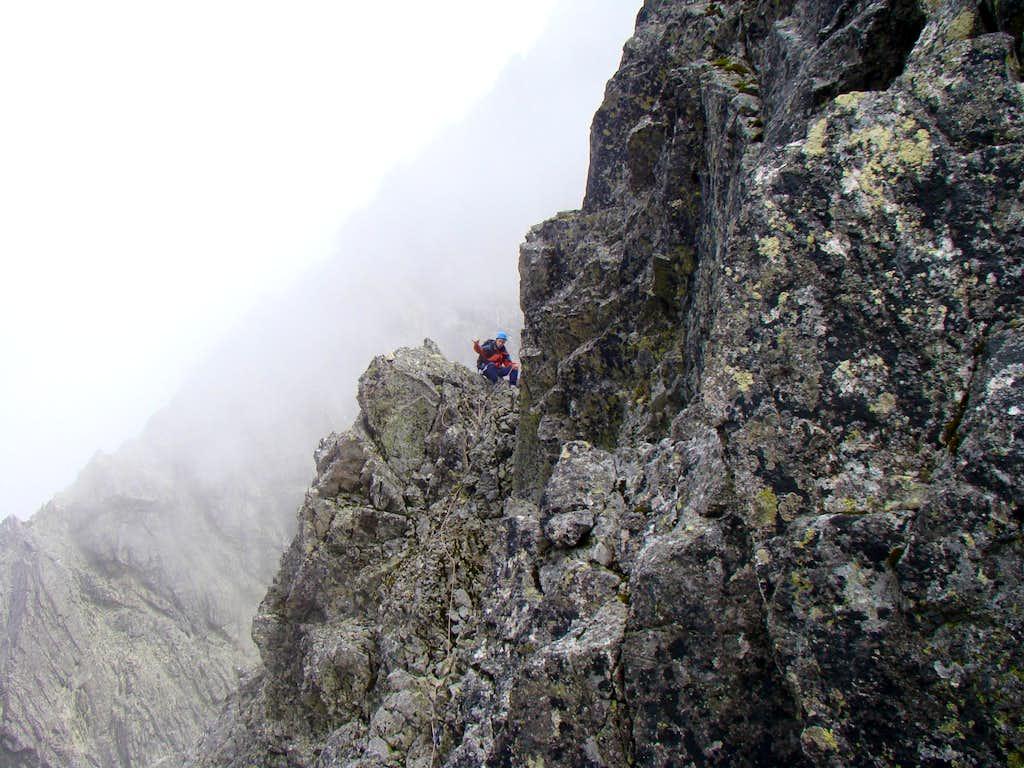 Little pass on the ridge