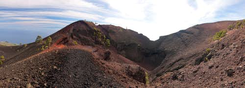 Crater of Volcan Martin