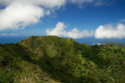 Ko'olau Mountain Range