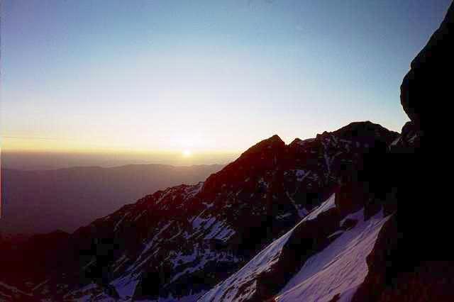 Mt. Williamson by sunrise...