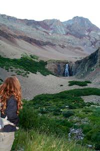 The falls of El Diente