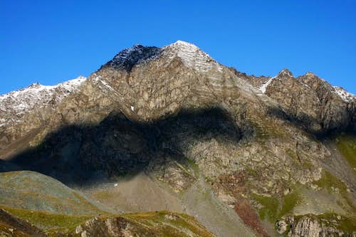Aiguille Rouge from Refuge de Turia