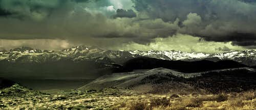 Storm of the Eastern Sierras