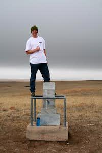Throwing the Shaka on Panorama Point!