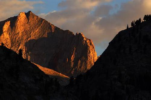 Evening Light Shows the Way to Colby Pass