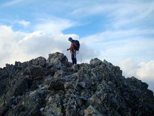 Summit of Pysny Stit