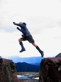 Comeau Pass Jump!