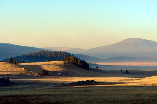 Evening, Valles Caldera