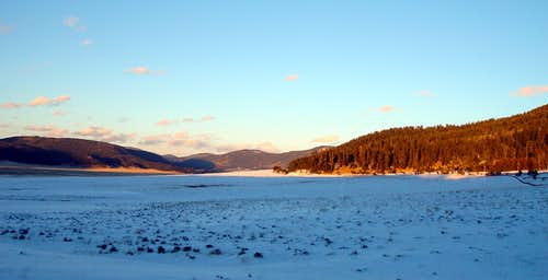 Sunset, Valles Caldera