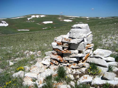 Fishook Summit Cairn