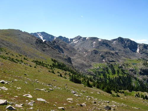 Upper Nolan Creek Basin