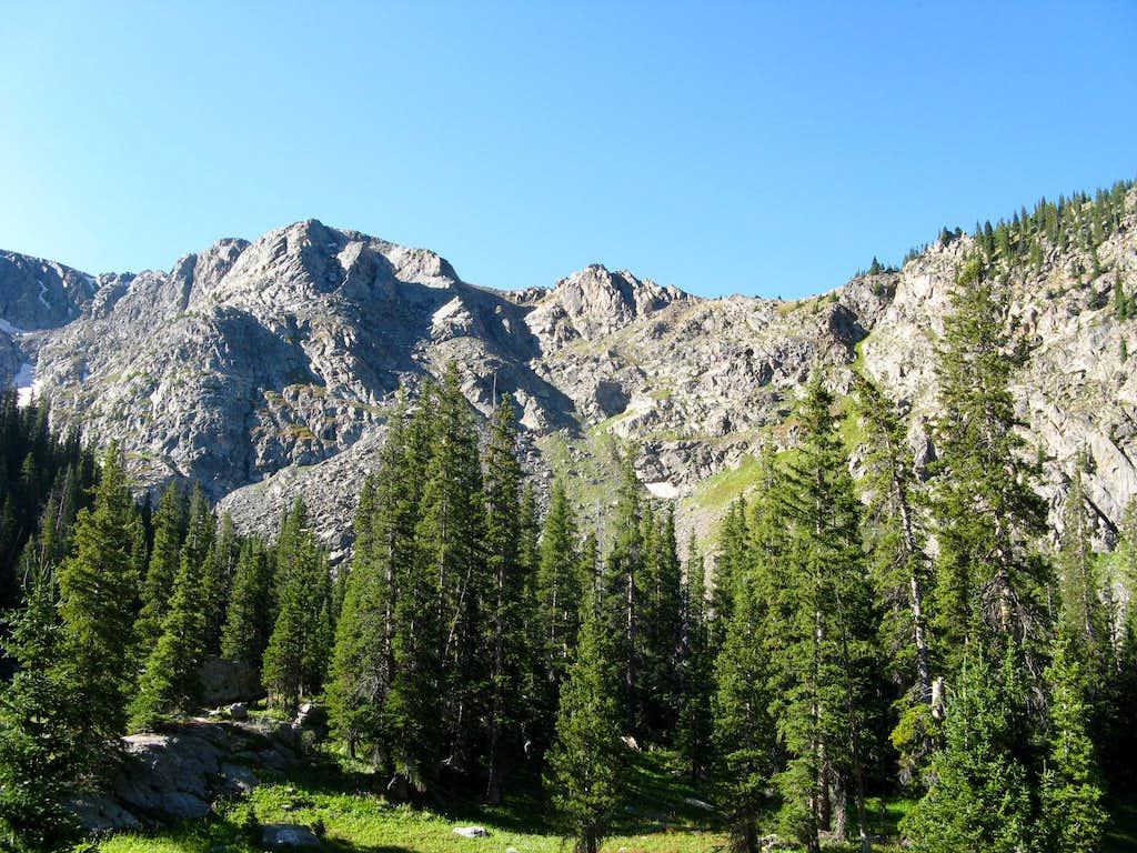 Rugged Ridges above Nolan Lake Trail