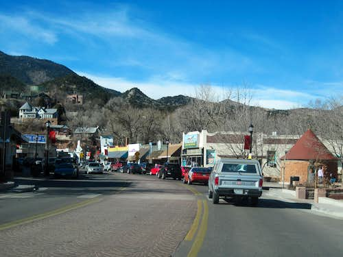Manitou Avenue in Manitou Springs