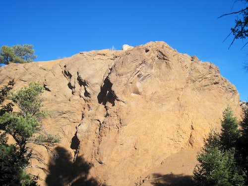 Summit outcrop