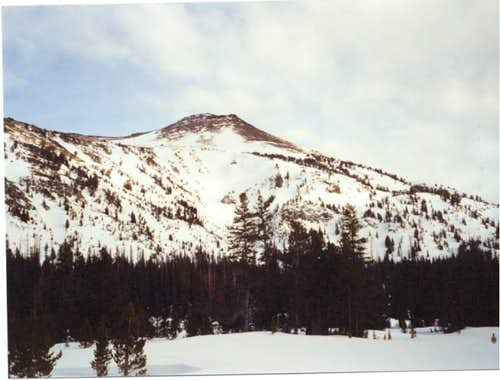 Aneroid Peak in mid-February...