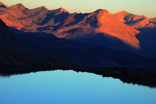 Sunrise on The Great Western Divide